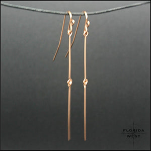 Linea Metallo Earrings - Jewelry Hand Made