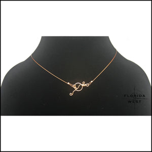 Linea Metallo Necklace - Jewelry Hand Made