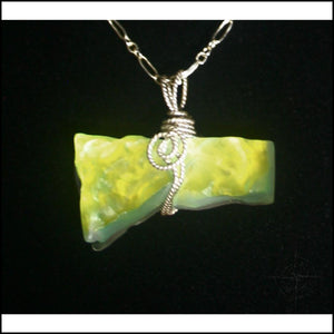 Opalescent Quartz Necklace - Jewelry Hand Made