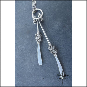 Silver Dance Necklace - 16 - Jewelry Hand Made