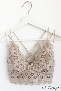 Brooklyn Bralette in Light Taupe (Curvy Size)