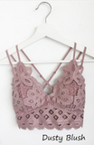 Brooklyn Bralette in Dusty Blush (Curvy Size)