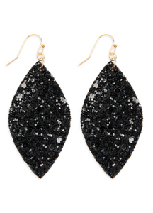 Black Sequin Earrings