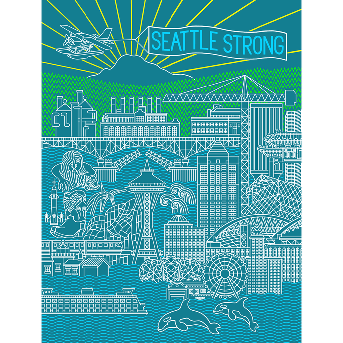 Seattle Strong Postcards