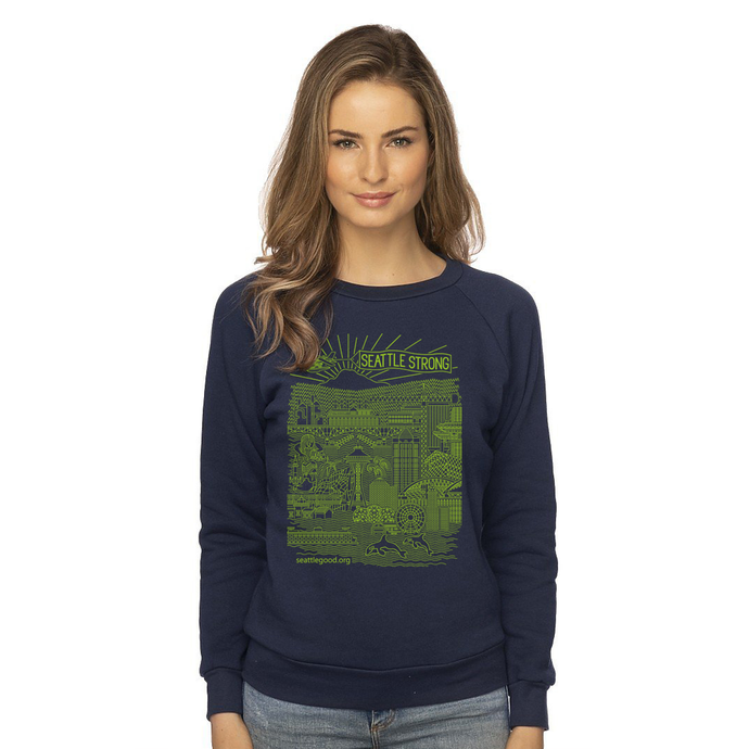 Women's Fleece Raglan Pullover