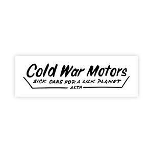CWMC Transparent Dealership Sticker
