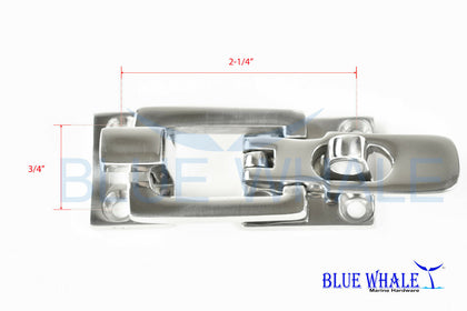 316-Grade S.S. Clamp-locking Latches for Boat BL04541662 - Blue Whale Marine Hardware