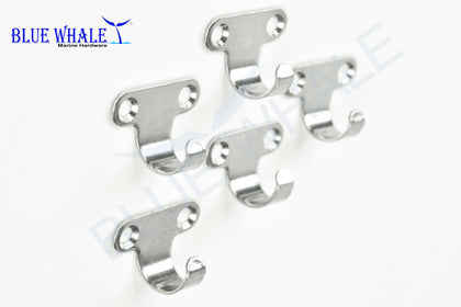 3PCS Light Duty S.S. Utility Hooks for Boat BL29510116 - Blue Whale Marine Hardware