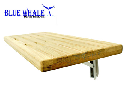 Folding Bench Wall Mount Fold Down Bench Slats for Boat Shower - Blue Whale Marine Hardware