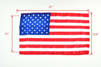 "2PCS American/ US Flag SIZE: 12"" X 18"" for USA BL32240216"