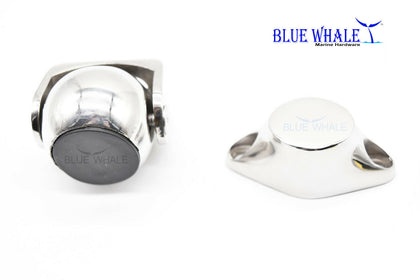 316 S.S. Magnetic Ball Door Stopper Holder Set USA Grade A BL04530142 - Blue Whale Marine Hardware
