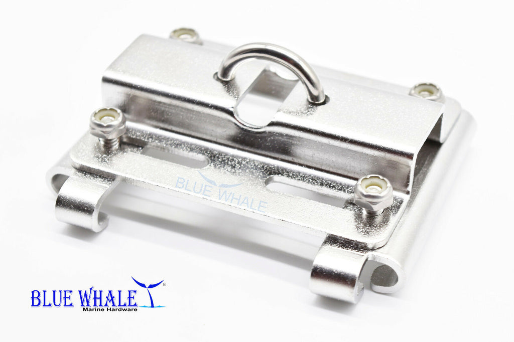 Vertical Stanchion Rail Mount Anchor Bracket Holder Port and Starboard