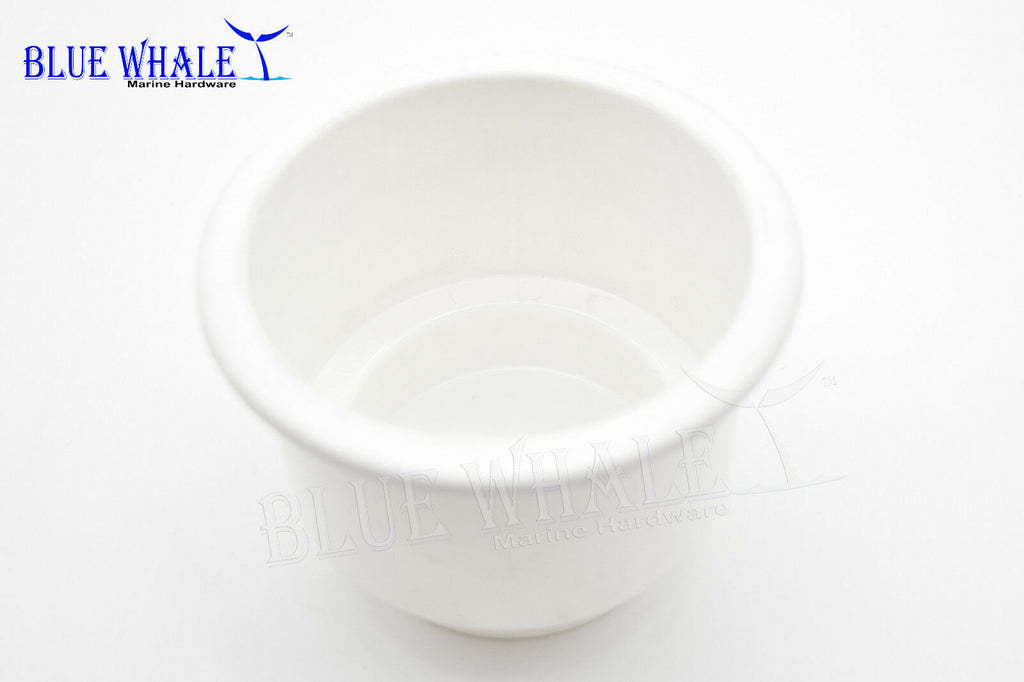 6 PCS White Plastic Cup Drink Holder without Drain Hole USA BL31616073