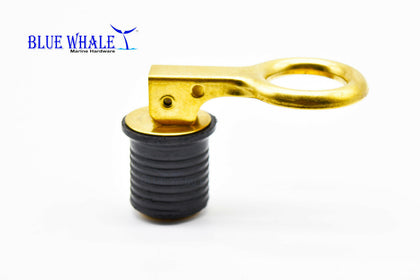 Brass Snap Handle Drain Plug (Size:1