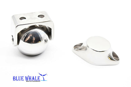 6 PCS 316 S.S. Magnetic Ball Door Stopper Holder Set USA BL04530142 - Blue Whale Marine Hardware
