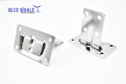 S.S Folding Shelf Bracket | Fold Down Shelf | Lowes Shelf Brackets - Blue Whale Marine Hardware