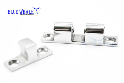 "S.S. Dual Ball Door Stud Catch 7/16"" × 1-15/16"