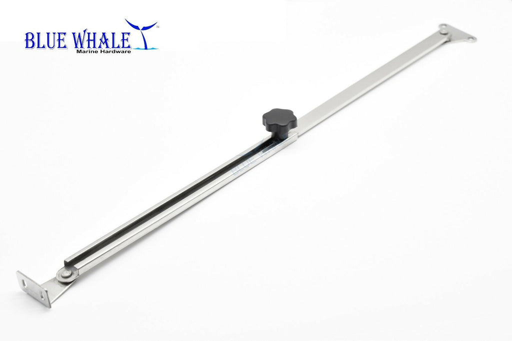 "Stainless Steel Telescoping Hatch Lift Or Window Adjuster And Stay Support 10""-17""  For Boat BL175507830"