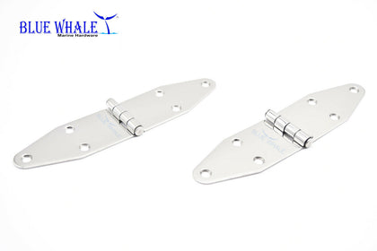 BLUE WHALE 304 Stainless-Steel 6 Point Fixing Door Strap Hinge 7