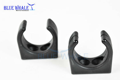 Black Nylon Hook Clip for tube Swivel Hook & Accessories - Blue Whale Marine Hardware
