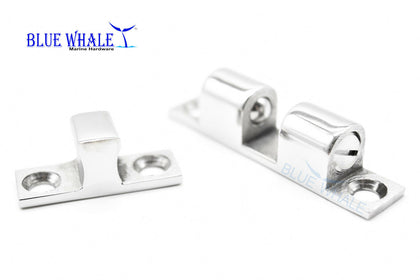 "2PCS S.S. Dual Ball Door Stud Catch 7/16"" ×1-15/16"