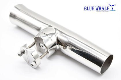 "Blue whale 2PCS Luxury Fishing Clamp-on Rod Holder for Rail 7/8""-1"" dia.US BL31585567 - Blue Whale Marine Hardware"