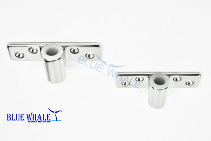 Shank Side Mount Rowlock/Oarlock Socket Oar Locks - Blue Whale Marine Hardware