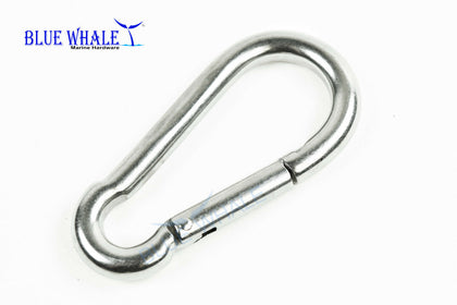 10PCS 316 Stainless-Steel Carabiner Snap Hook (A:2