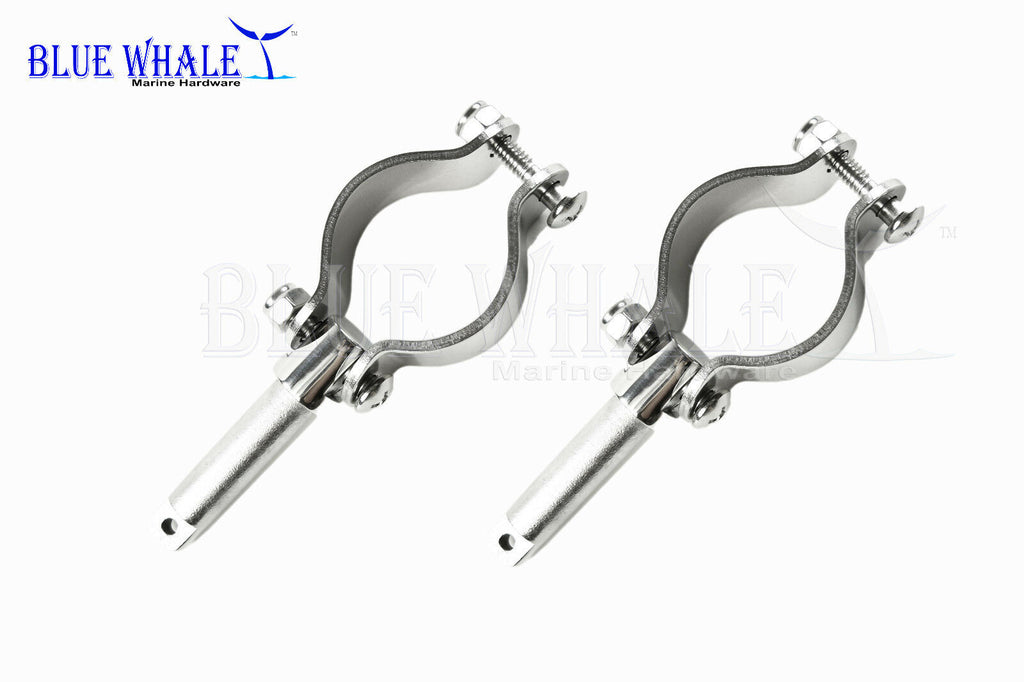 "S.S. Clamp on 1-5/8"" Rowlocks /Oar locks (pair) BL11510159"