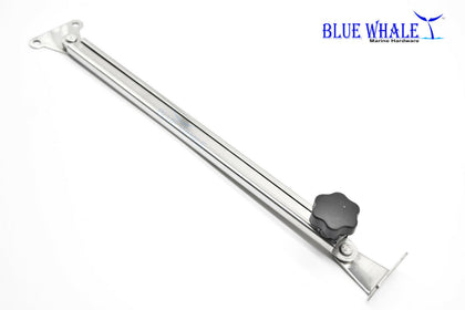 Stainless Steel Telescoping Hatch Lift Or Window Adjuster And Stay Support 10