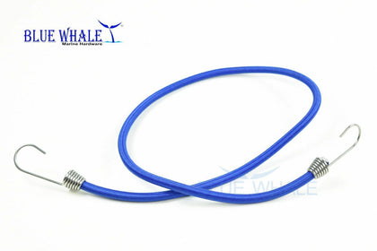 2PCS Blue Bungee Cord w/ S.S. Hook-32