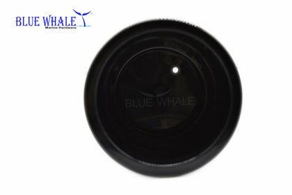 Black Plastic Cup Drink Holder w/ Side-Drain Hole USA BL31610173 - Blue Whale Marine Hardware
