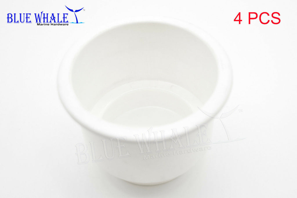 4PCS White Plastic Cup Drink Holder without Drain Hole USA BL31616073