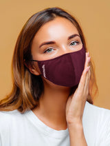 360 Mask-Dusty Rose Dark Berry - 4-pack