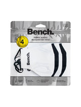 360 Mask-White Black - 4-pack