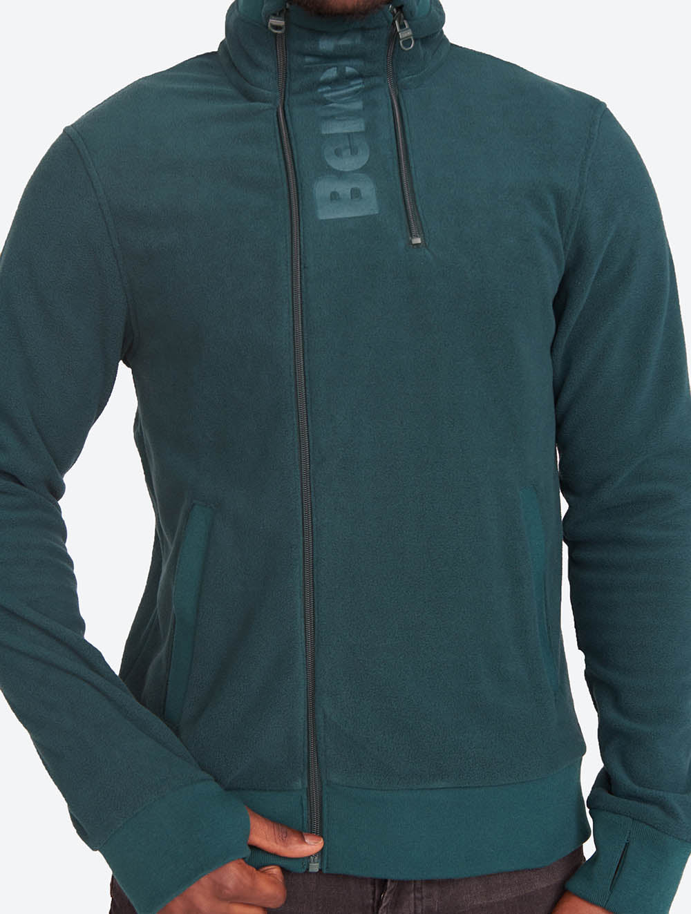 Asymmetrical Double-zip Fleece