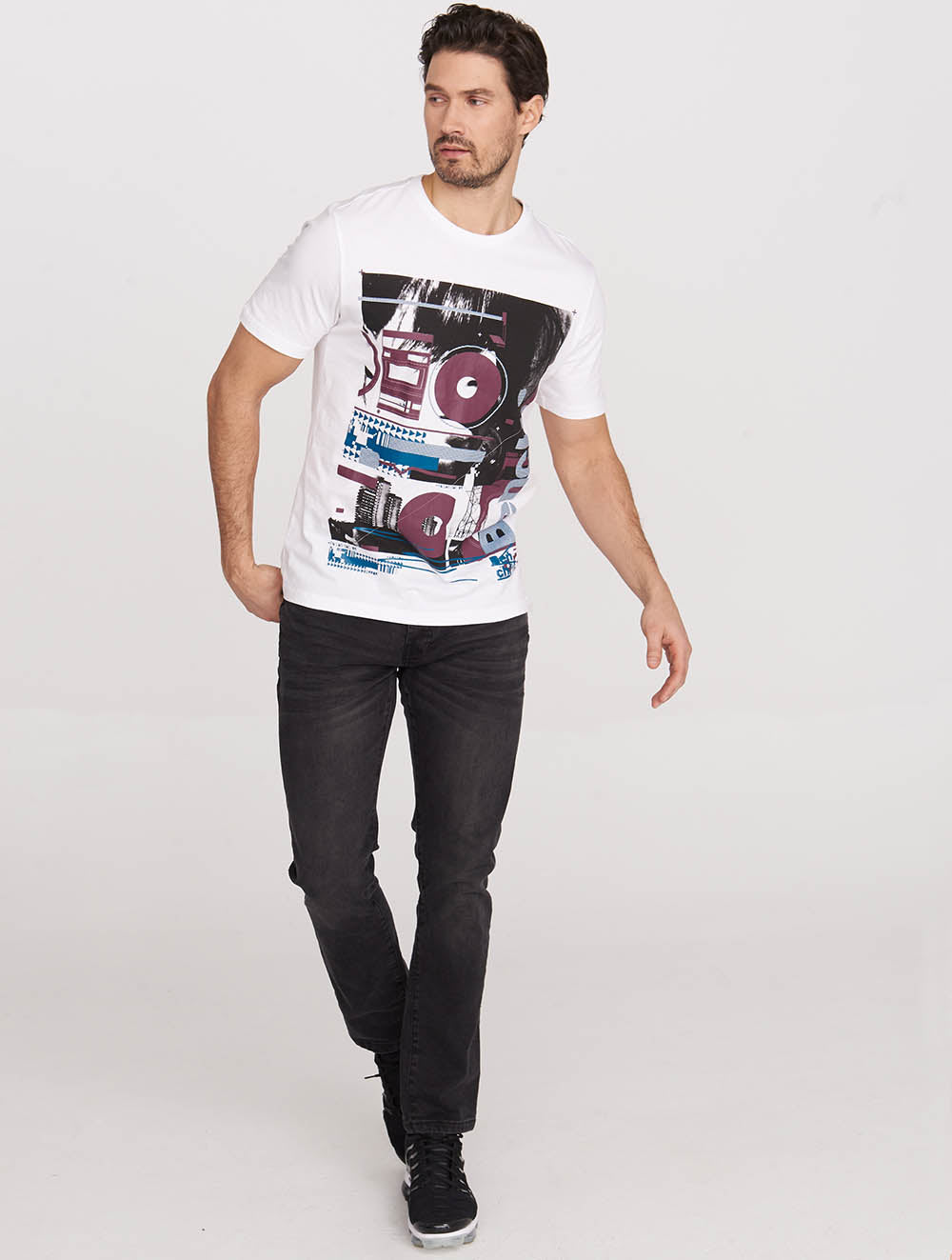 Bench Music Graphic Tee