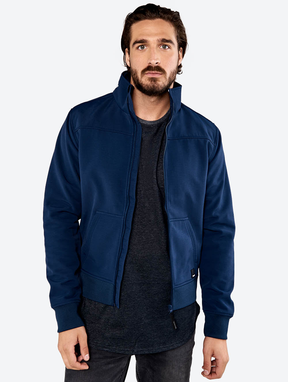 Bonded Funnel Neck Jacket