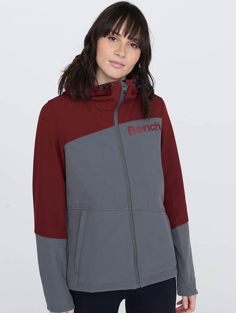 Colour Block Softshell Jacket