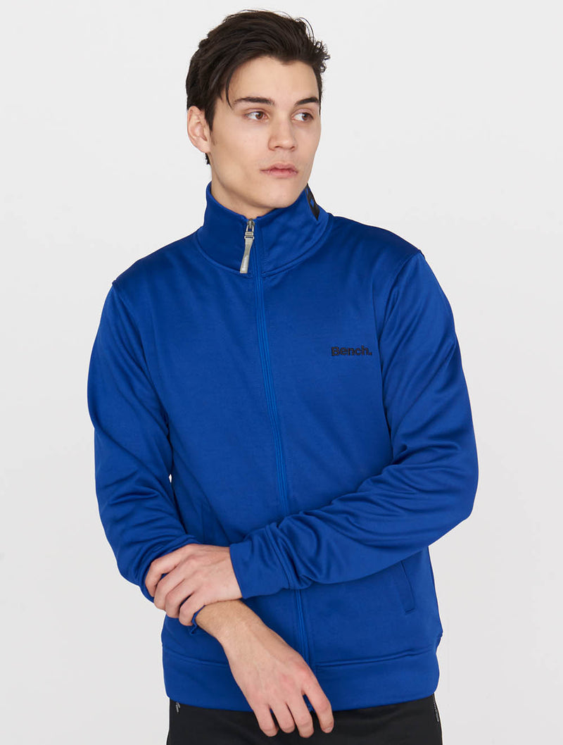 Headway Zip-thru Funnel Neck Sweat