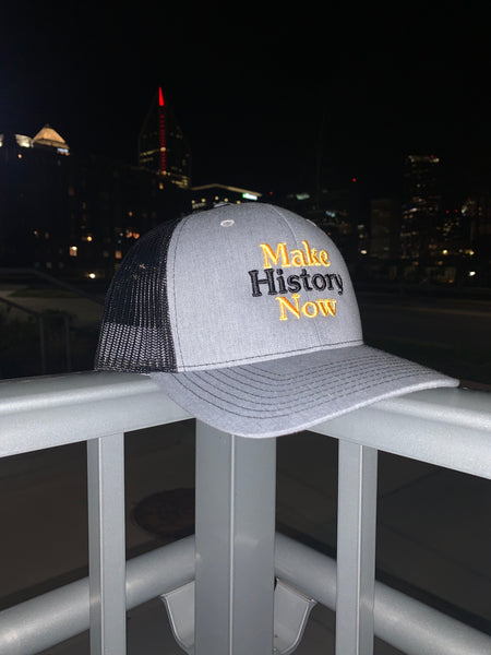 Make History Now - Grey, Black, & Yellow