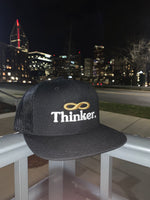 "St8ments ""Thinking Cap"" - Black, Gold, & White"