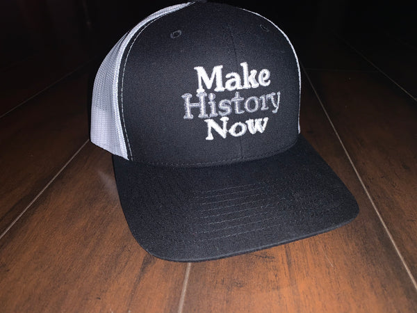 Make History Now - Black, Grey, & White