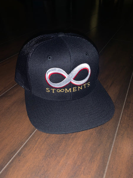 St8ment Logo Snapbacks - Black, White, Gold, & Red