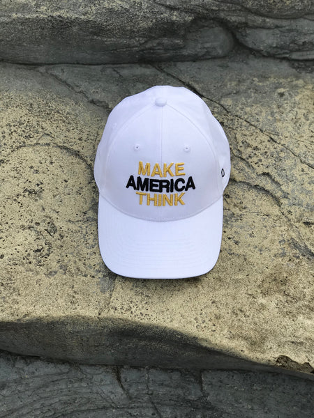 MAT - White, Black, & Gold Dad Hat