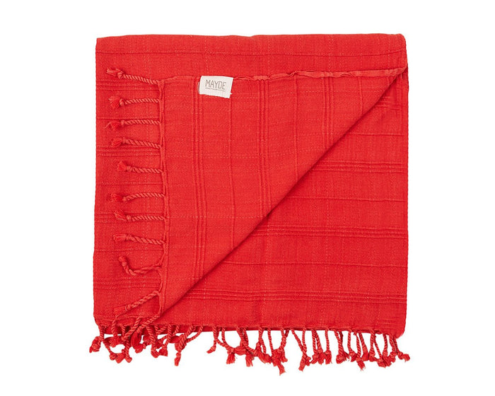 AVALON TOWEL - CRIMSON