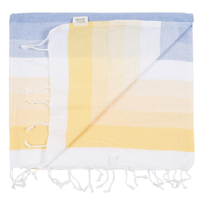 EDEN TOWEL - LEMON/OCEAN