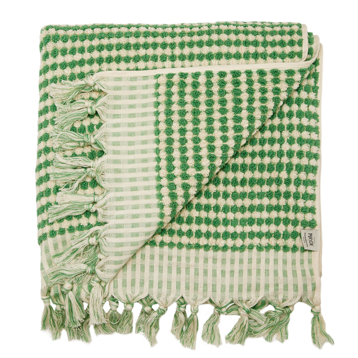 LIMITED EDITION | CRESCENT TOWEL - EMERALD