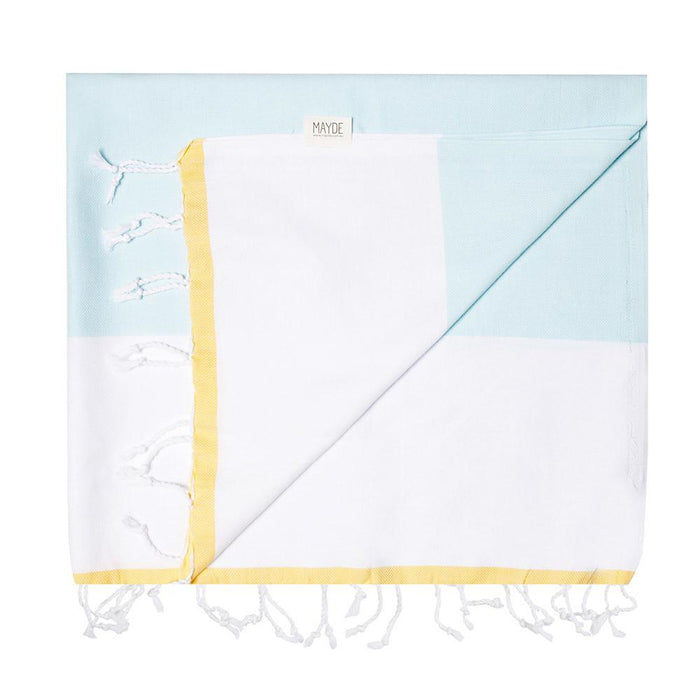 CASTAWAY TOWEL - MINT / LEMON