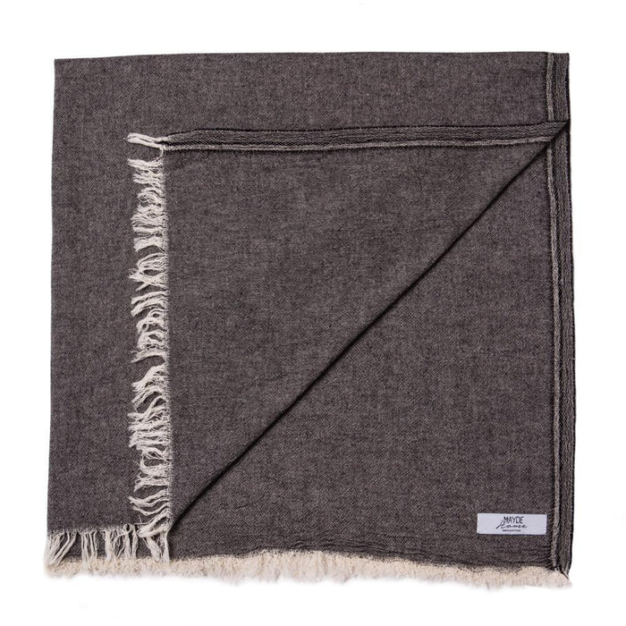 NOOSA PLAIN TOWEL - SMOKE